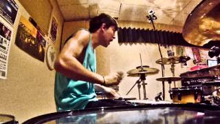 Chris Dimas - Kokayne - RiFF RAFF - Drum Cover