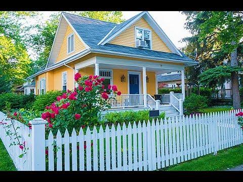 Как красиво оформить палисадник перед домом