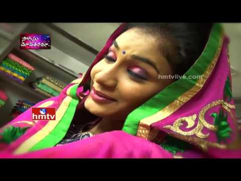Latest Designer Sarees by Srinivasa Textiles Banjara Hills | Sogasu Chuda Tarama | HMTV Avani