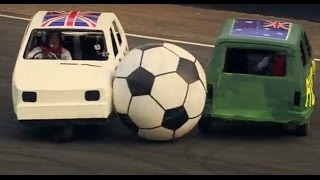 England Vs Australia: Reliant Robin Football - Top Gear Festival Sydney