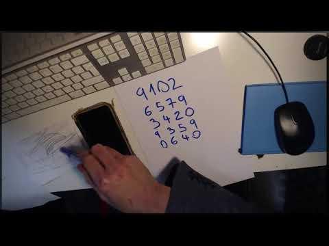 Předpověď 5 ciferného čísla //  vysvětlený kouzelnický TRIK