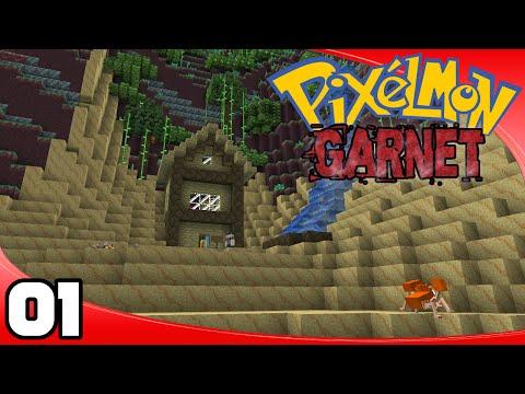 Pixelmon Garnet - Ep. 1: Our Journey Begins! | Minecraft Pixelmon Single-Player Let's Play
