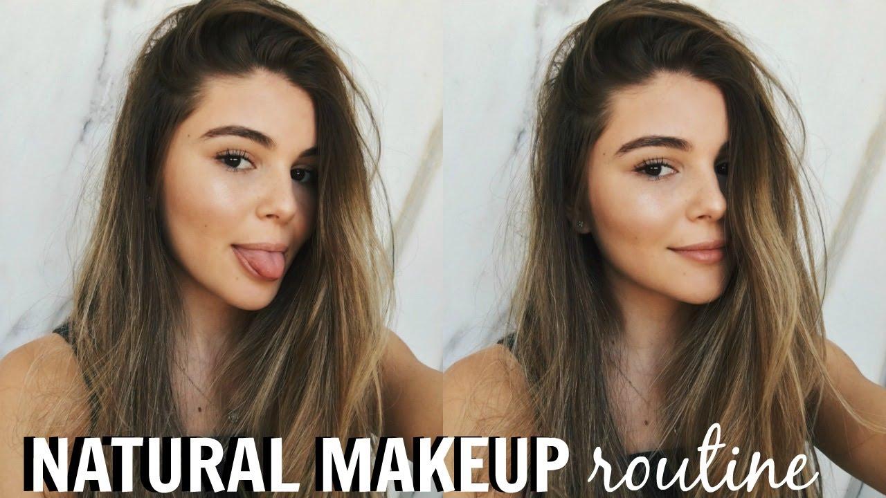 Natural Makeup Routine Olivia Jade Youtube