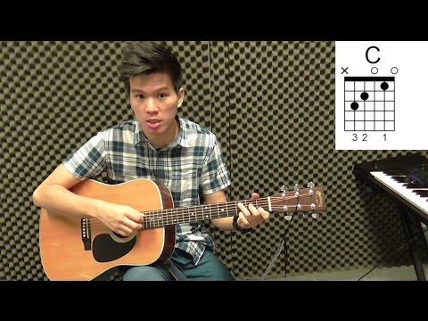 张震岳【爱我别走】吉他教学 建德吉他教程 #52
