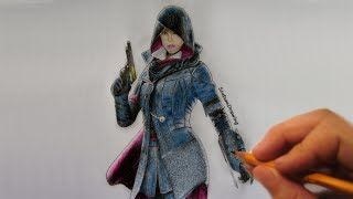 Evie Frye - Speed Drawing - Timelapse - Assassin's Creed: Syndicate