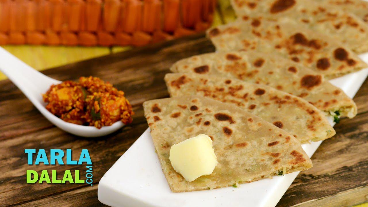 Gobi Paratha / Punjabi Gobi Paratha, Stuffed Cauliflower ...