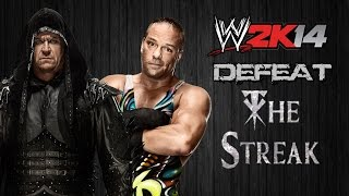 WWE 2K14 Defeat the Streak - Rob Van Dam (Episodio 18)