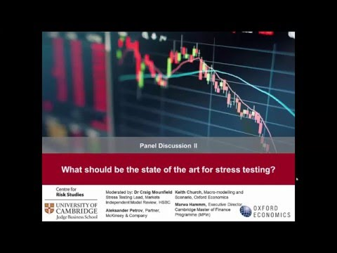 What should be the state of the art for stress testing? (panel discussion)