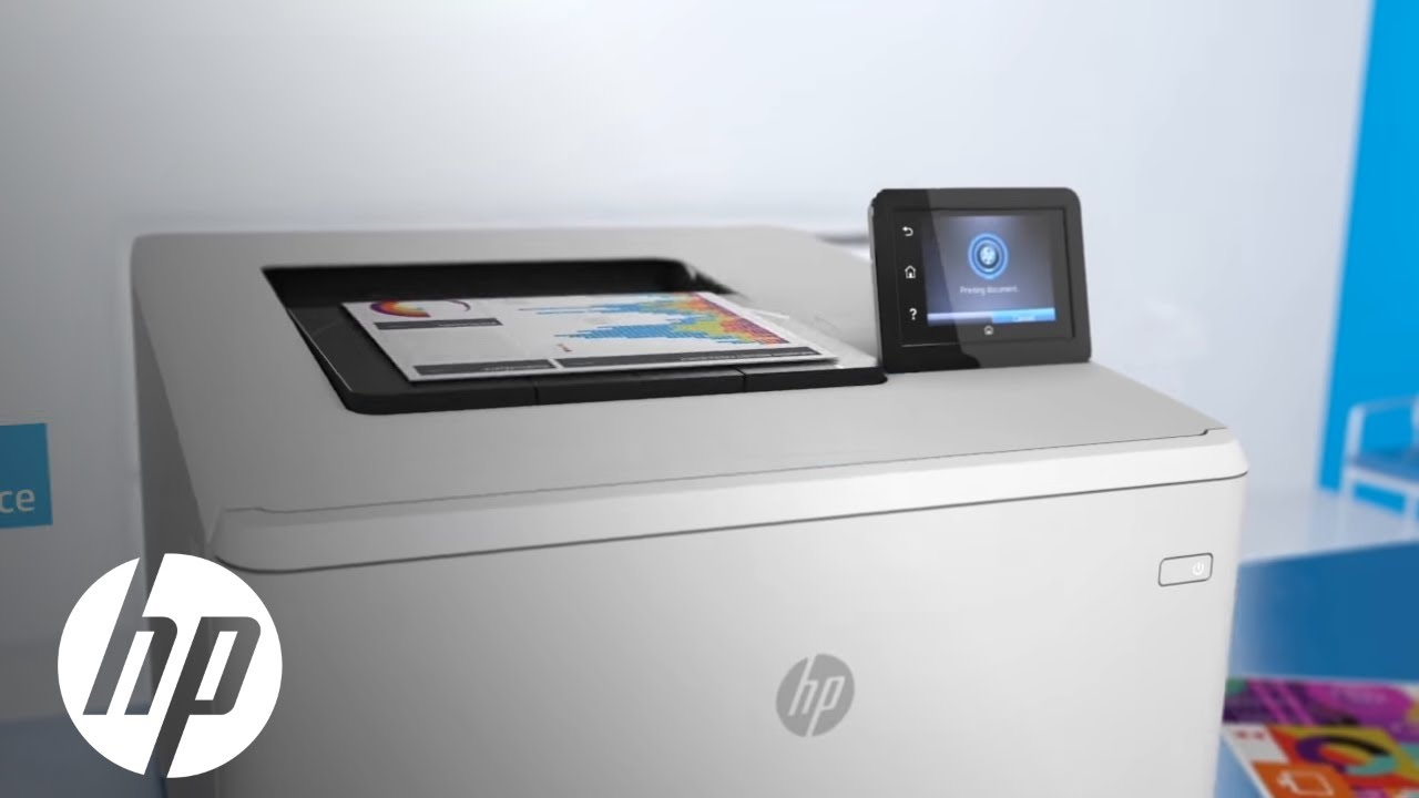 HP Color LaserJet Pro M452dw | Official First Look | HP - YouTube