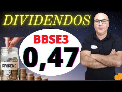 A BB Seguridade (BBSE3) comunicou a distribuição de 948 mil em Dividendos. Será R$ 0,47 por ação.