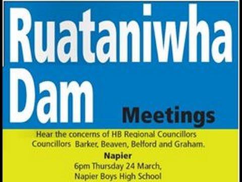 "Ruataniwha Dam Debate NAPIER BOY""S HIGH SCHOOL HALL"