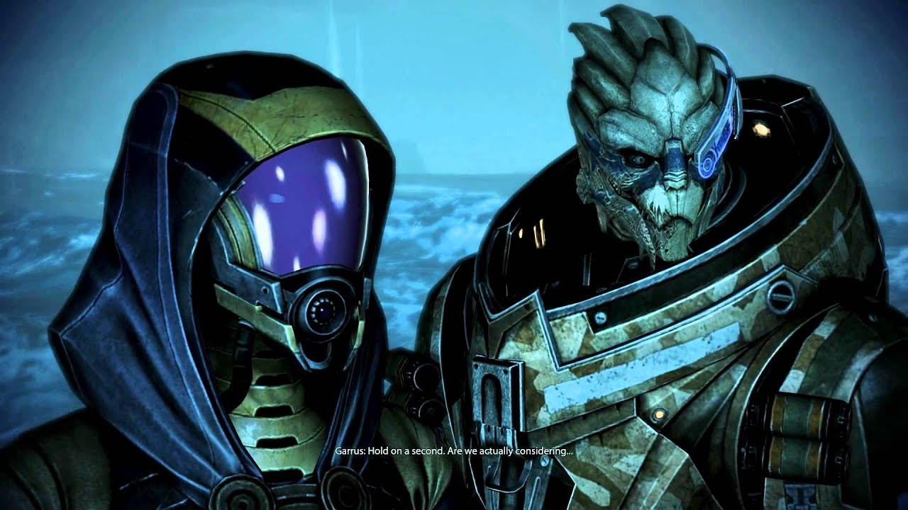 mass effect3 how to make garrus and tali romance eachother
