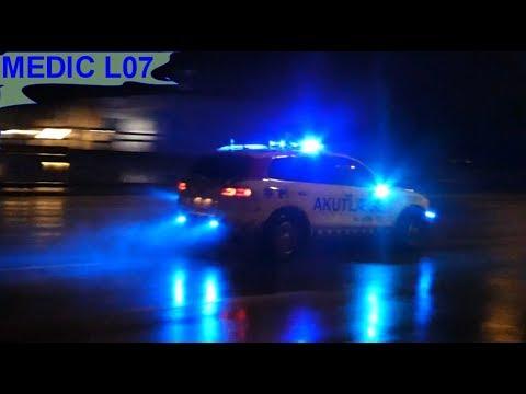 NEF L07 region hovedstaden in copenhagen læge ambulance i udrykning notarzt einsatzfahrt