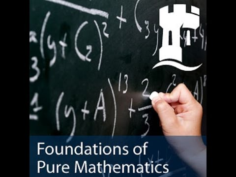 Introduction to Foundations of Pure Mathematics - Dr Joel Feinstein