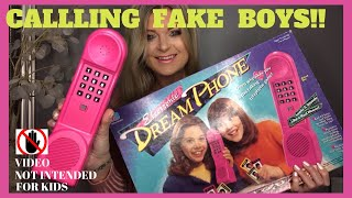 Playing Electronic Dream Phone Finding A Fake Boyfriend