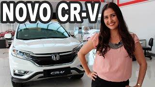 Novo Honda CR-V 2015(TESTE: Novo Honda CR-V chega reestilizado e com novos equipamentos na linha 2015. O SUV médio sai em versão única, topo de linha, EXL por R$ 134.900 ..., 2015-09-19T11:03:39.000Z)