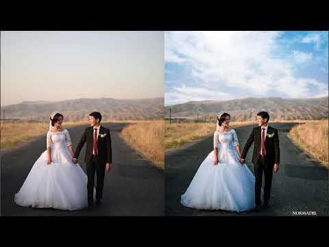 Обработка свадебного фото в фотошопе   Wedding Photo Processing In Photoshop#1