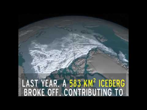 The Antarctic Ice Sheet Is Breaking Apart From the Inside
