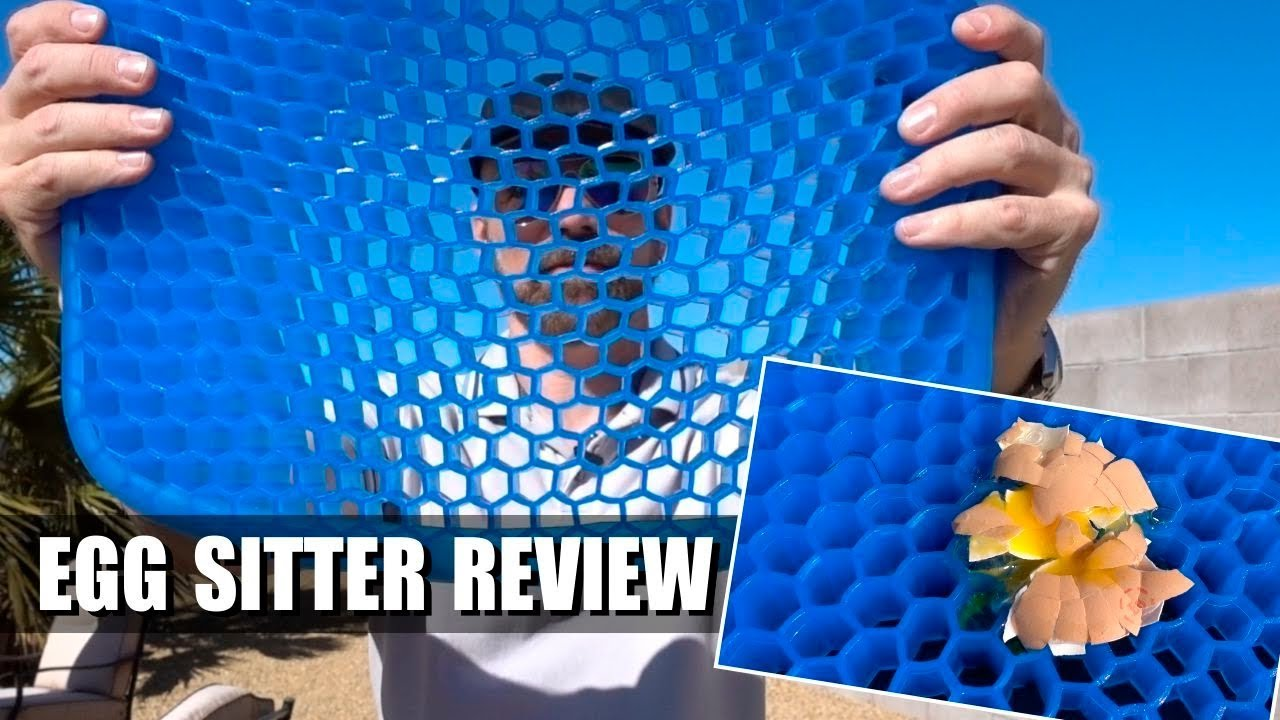 Egg Sitter Review As Seen on TV Gel Cushion  YouTube