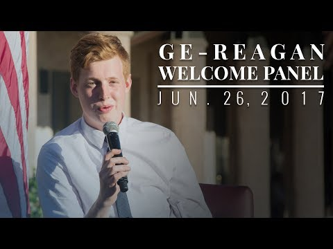 GE—Reagan Welcome Dinner & Panel Discussion — 6/26/17