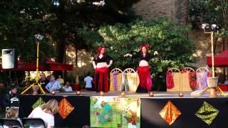 Actuación de Samsara en II Hafla Shedam Tribal