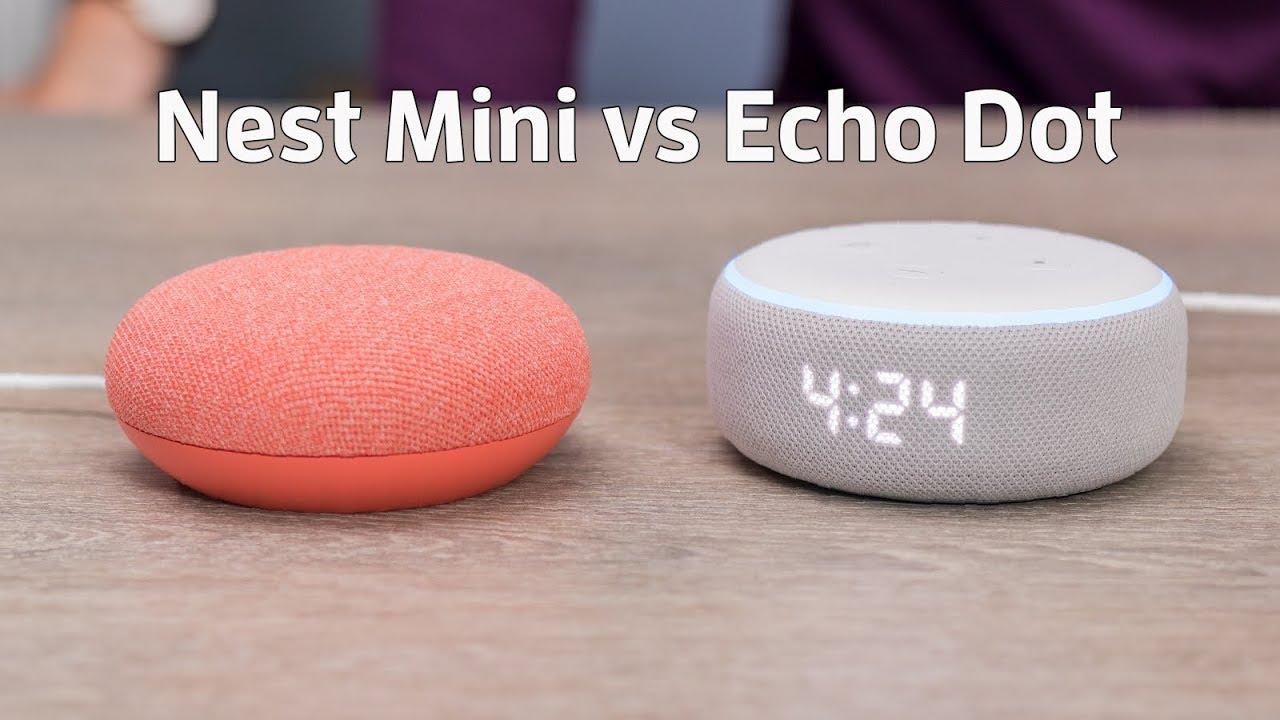 google mini vs google nest mini