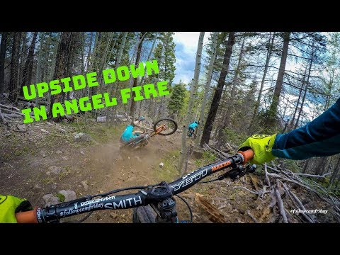 Even The Best Fall Down | Angel Fire Bike Park