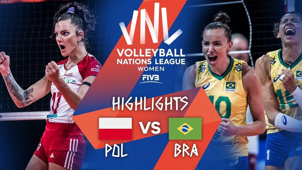 Download POL vs. BRA - Highlights Week 4   Women's VNL 2021