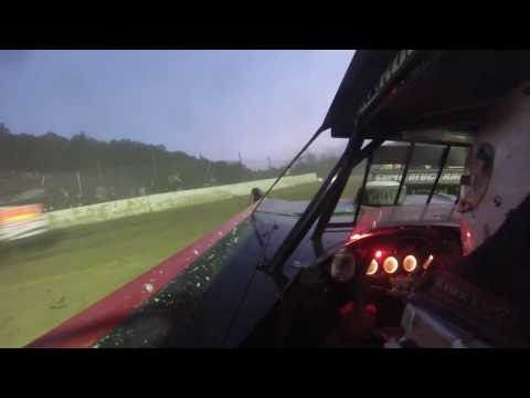 Rick Singleton 99* Hesston Speedway Feature wreck 5-28-16