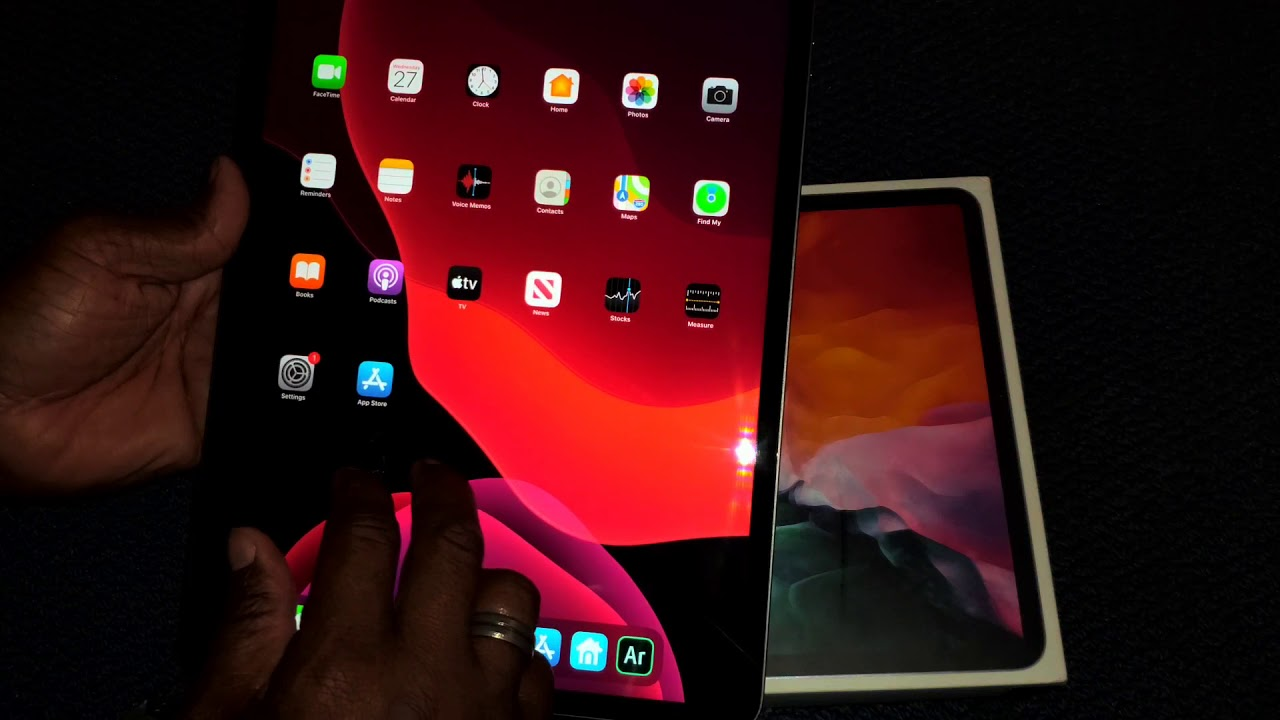 new apple ipad 12.9 pro unboxing review - YouTube