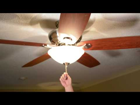 Summer Energy Saving Tips - Fans and Lights