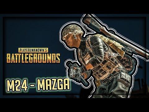 M24 TACNO U GLAVU ! Playerunknown's Battlegrounds