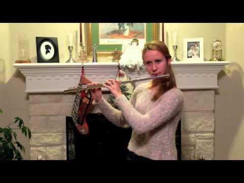 2015 12 11 Katie Willig age 16 performing D Major by Karg Elert