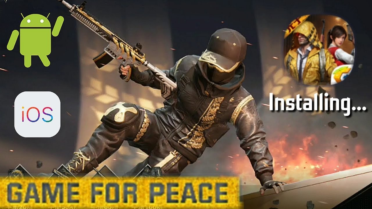 HOW TO DOWNLOAD THE NEW PUBGM: GAME FOR PEACE - ANDROID/APPLE