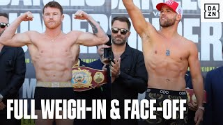 Canelo & Billy Joe Saunders Look SHREDDED On Scales Ahead of Unification Fight