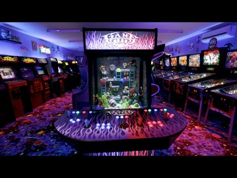 Check Out This Sweet Video Arcade Fish Tank! | Tanked