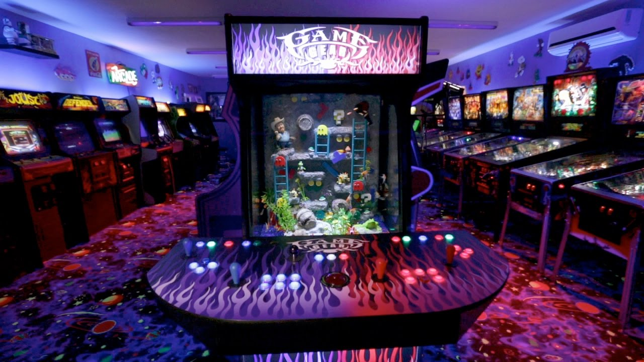 Check out this sweet video arcade fish tank tanked for Fish tank show