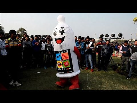 New Delhi marks condom day