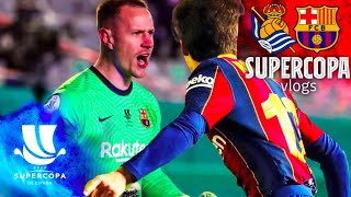 😱💥 INSANE PENALTY SHOOT OUT REACTION FROM CÓRDOBA | SUPERCOPA VLOG (Real Sociedad 1-1 FC Barcelona)