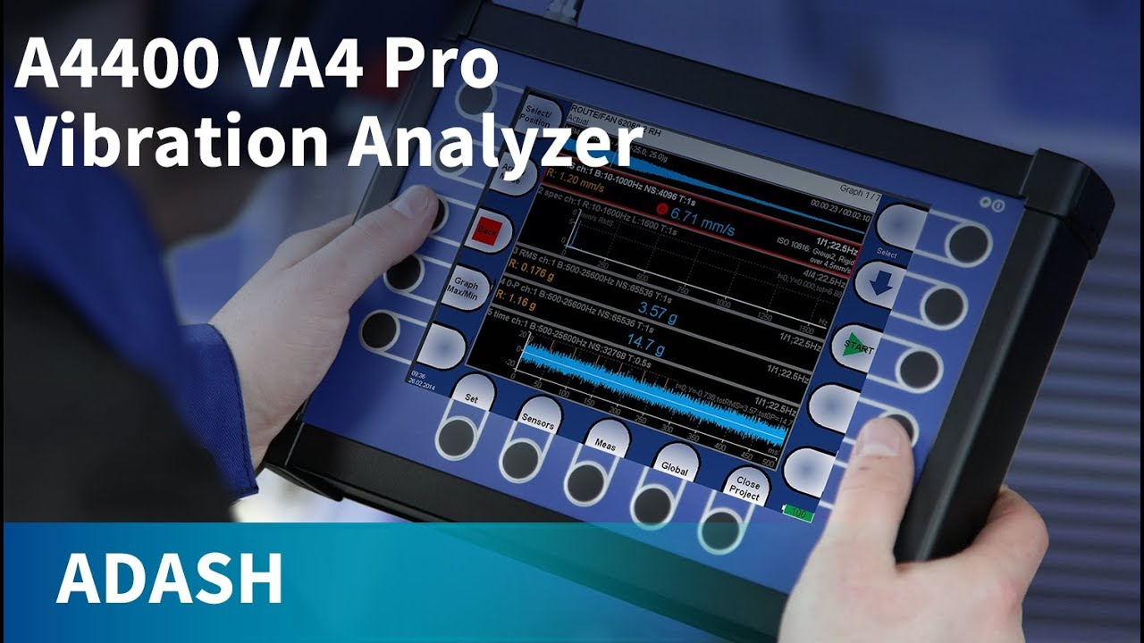 A4400 VA4 Pro II | Adash Vibration Analyzers | ATEC Rentals