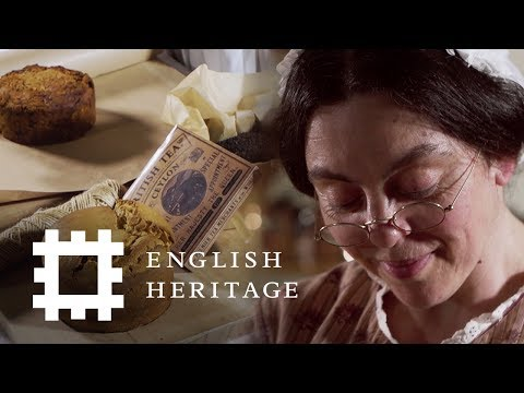 "Mrs Crocombe's ""Taste of England"" Food Parcel - The Victorian Way 