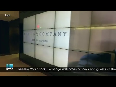 Moelis and Company Rings The NYSE Opening Bell - YouTube