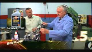 Bestline compared to Slick 50, Z Max, and Lucas Oil on Lubricity Bench Tester