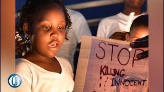 WATCH: 8-Y-O Leads Candlelight Vigil For Shantae Skyers