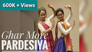 #Ghar More pardesiya/Jalpa Shelat Choreography /Kalank movie