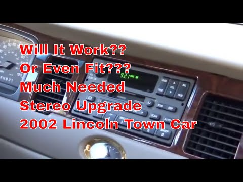 2002 Lincoln Town Car Pioneer DEH-X8800BHS Stereo Upgrade Will It Work Or Fit???
