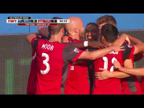 Match Highlights: Toronto FC at Montreal Impact - August 27, 2017