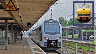 Abellio FLIRT 3 vertrekt van station Emmerich als RE19 naar Arnhem!