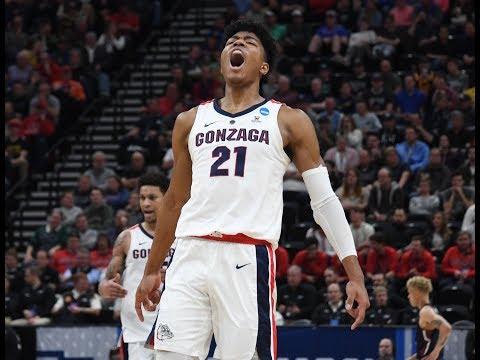 Gonzaga's Rui Hachimura drops 21 points in First Round of NCAA tournament
