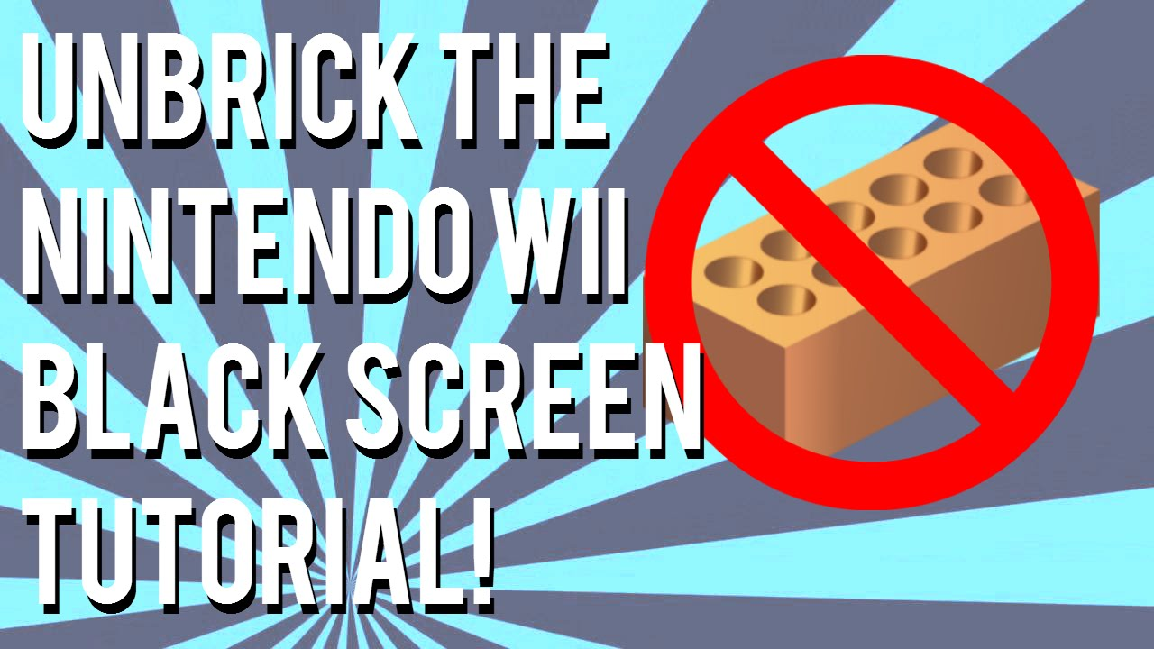 How To Fix a Wii With a Black Screen! - Bootmii Method | InfoCannon